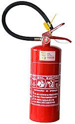 Extintor de Pó Químico Classe BC