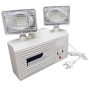 Iluminação de Emergência Autonoma com Farol